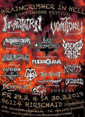 Braincrusher Festival 2019, Hirschaid :: Supported by Hell-is-open.de :: klicken für mehr Info...