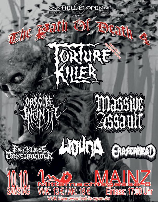 Path of Death 4 - Flyer - Mainz