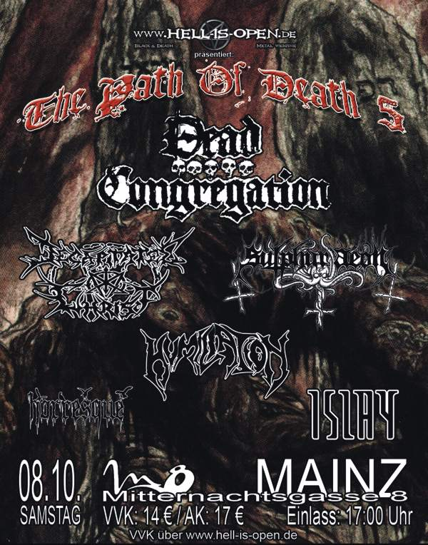 Path of Death 5 - Flyer - Mainz