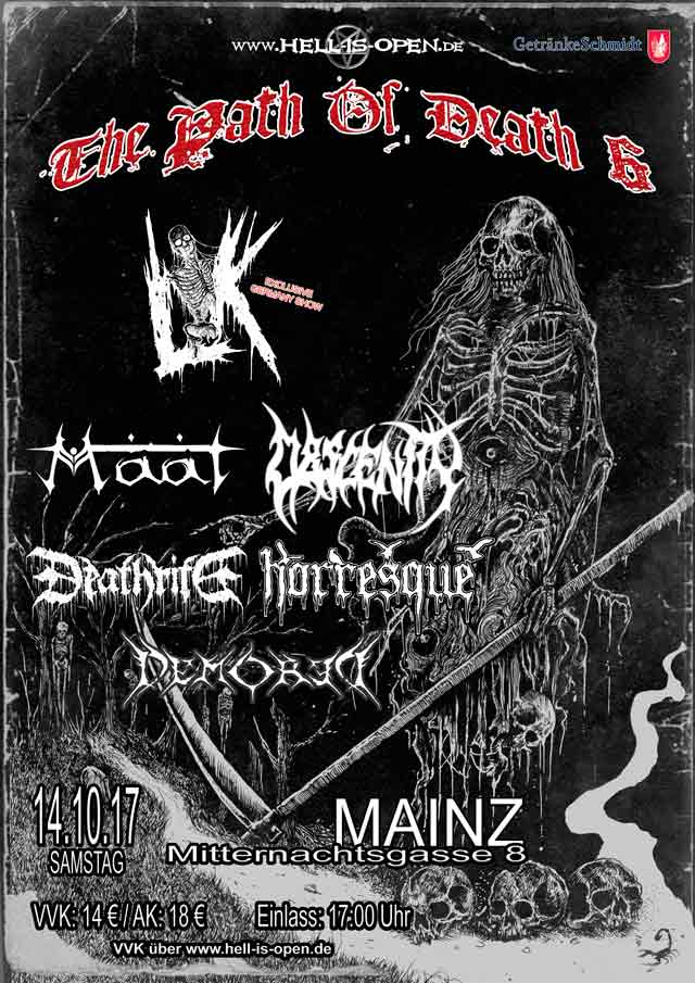 Path of Death 6 - Flyer - Mainz