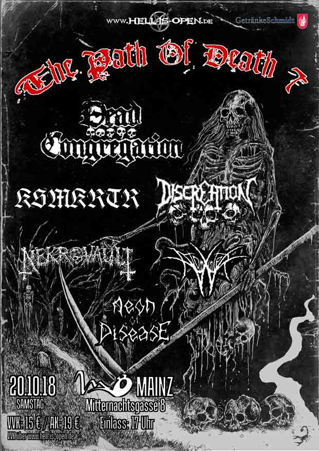 Path of Death 7 - Flyer - Mainz