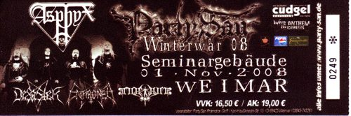 Party.San Winterwar
