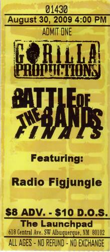 Battle of the Bands, 2009, Albquerque, USA