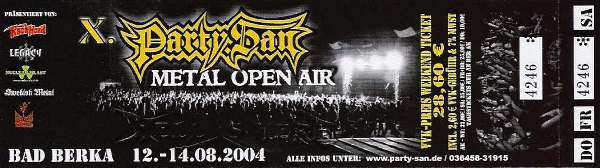PARTY.SAN Open Air 2004